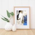 Sulphur-Crested Cockatoos Building a Nest - A3 photographic print