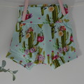 Stretch summer harem shorts for girls