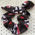 Large AFL St Kilda FC bunny ear bow - scrunchies - women - children
