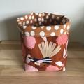 Small fabric planter | Storage basket | FANTAIL