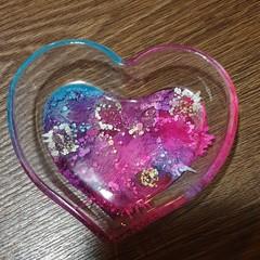 Rainbow trinket heart