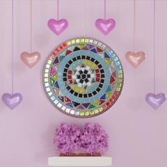 Mosaic Mandala Circle
