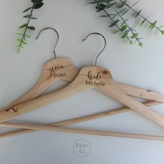 Personalised Wooden Hangers For Any Occasion