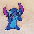 """""""For the love of Stitch"""" Iron-on Badges and Coasters."""