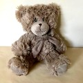 Cuddles Time - Gift box - Dried bouquet + Teddy - Baby shower, birthday, hamper