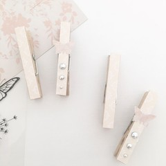 Decorative pegs - Butterfly