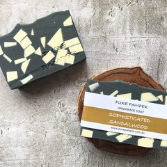 Handmade Soap - Sophisticated Sandalwood