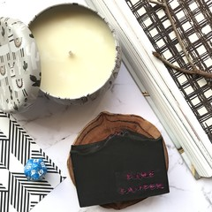 Pamper Gift - Choose your 1 Artisan Soap with Llama Candle