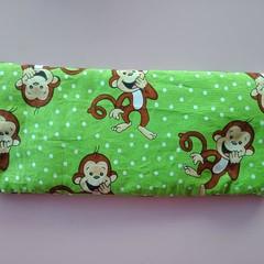 Monkey print wheat hot / cold pack