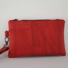 Fire red clutch