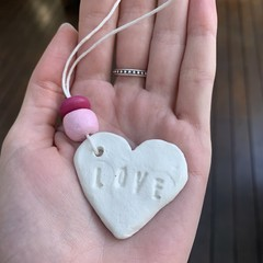 'Love' Heart Gift Tag