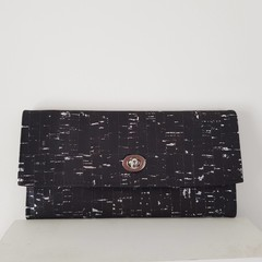 Silver Fleck Wallet