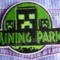 """""""Mining"""" Iron-on Badges."""