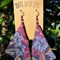 Triangle Super Dangle Earrings