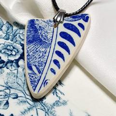 Dutch Delft Blue  Pendant