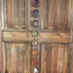"""Dreamcatcher """"Chakra Healing Hanger"""" Colour Wood """"Medium"""""""