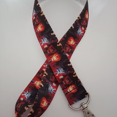 Electric guitar lanyard / ID holder / badge holder