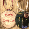 Custom Christmas ornaments, Free Shipping, Personalised Christmas baubles