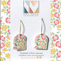 Buttercup Collection - Yellow Floral Arch Marquise Hook