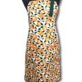 Orange Blossom Time ladies apron