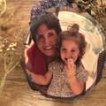 Wood slice magnet, Free Shipping, Rustic custom gift, boho photo magnet