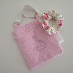 Pretty pink Ballerina purse.