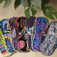 """Set of 7 x 8"""" Light/liner exposed core cloth pad (Versodile Tesswrap)"""