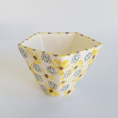 Unique, 5 Sided, Ceramic Vessel/Cup