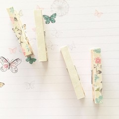 Decorative pegs - Fairy tale