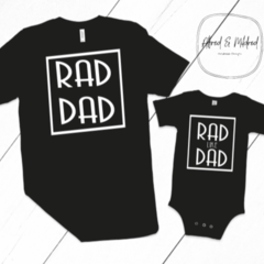Fathers Day T-Shirt / Rad Dad / Father Son T-Shirt