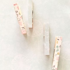 Decorative pegs - Wish