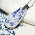 Dutch Delft Blue  Pendant