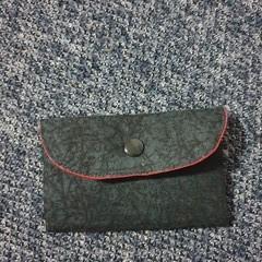 Black coin/card pouch