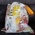 Oriental / Asian print tote bag