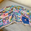 Vintage Style Blanket or Throw