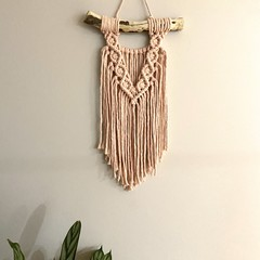 Little pink wall hanging
