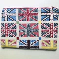 Union Jacks pencil case