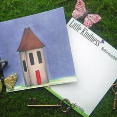 The Red Door  Postcard