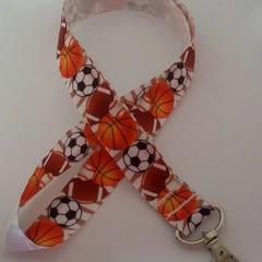Sport / soccer / football lanyard / ID holder / badge holder