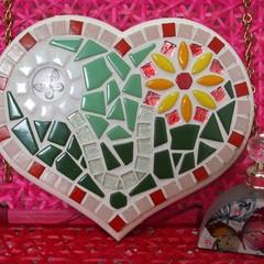 Mosaic Flutterby Heart