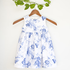 Handmade Cotton Girl's Dress Size 3