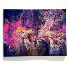 """Cosmic"" 40 x 60cm - 16x24 in Wall Art"
