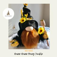 Nisse / Gnome - 'Buzz Buzz' - 28cm - FREE SHIPPING