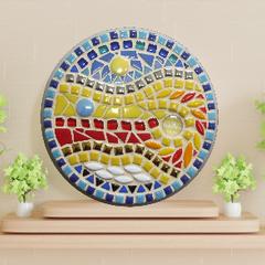 """Mosaic """"Choose Happy"""" Circle"""