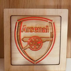 Arsenal EPL  Light Box (19x19x5cm)