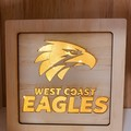 West Coast Eagles Light Box (19x19x5cm)