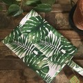 Nappy Wallet - Monstera Leaves