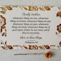 Christian Bible Verse Religious Inspirational Cards - Scripture Memory Pack 7