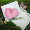 In Love  Post Card