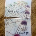 Set of Two Thank You Cards